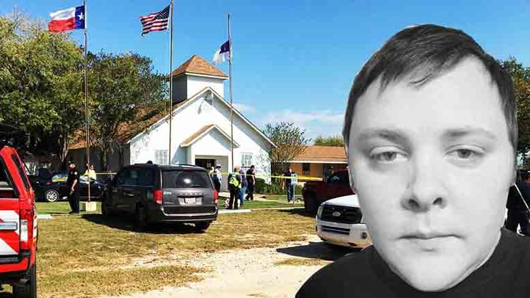 A photo of the Texas church shooter, Devin Patrick Kelley.