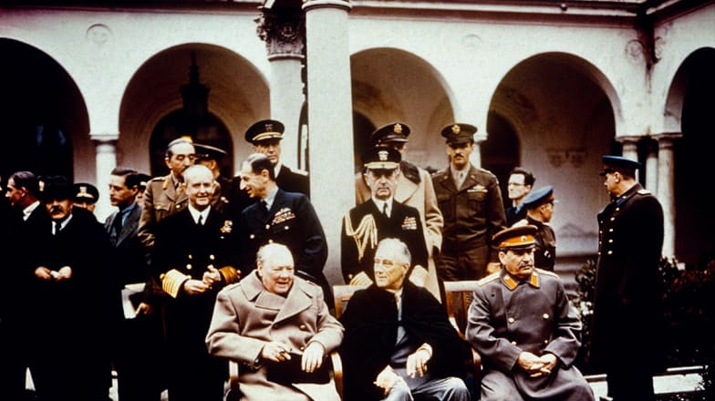 the objectives and impact of the yalta conference after world war two in 1945 Allied occupation of germany, 1945-52 after germany's defeat in the second world war at the final wartime conference between these two men at yalta in 1945.