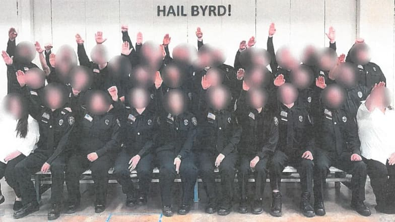 West Virginia Gov. Jim Justice Approves Firings of Correctional Academy Trainees After Nazi Salute Photo