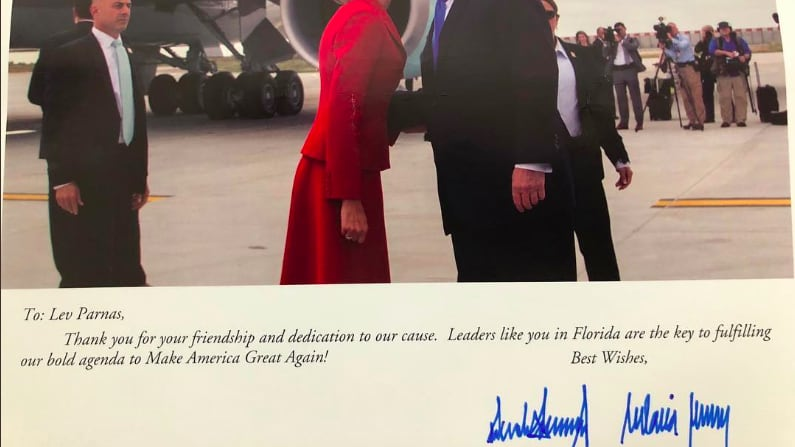 Lev Parnas Instagram Reveals Personal Note From Trump Thanking Him For His 'Friendship'