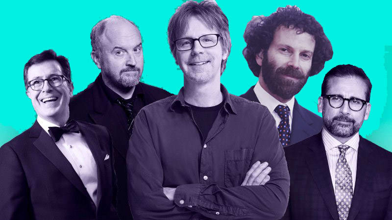 The Greatest TV Writers' Room Ever: Dana Carvey, Louis C.K., Stephen Colbert, Steve Carell, and More