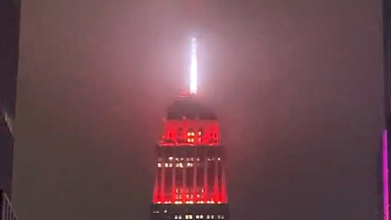 Empire State Building's Siren Light Captivates, Disturbs New Yorkers