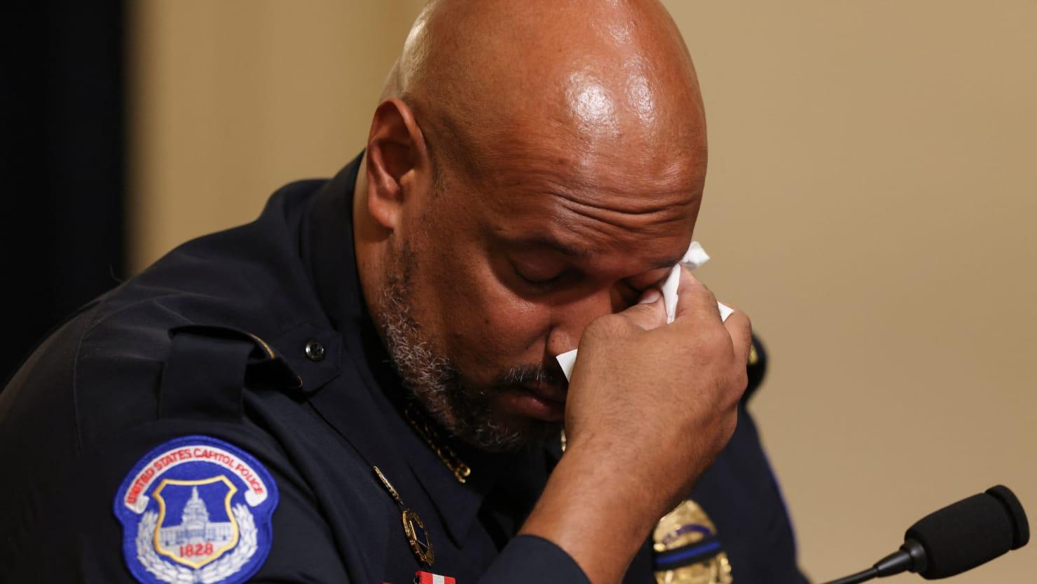 State TV Host Mocks Black Jan. 6 Cop in 'N-Word' Fueled Rant