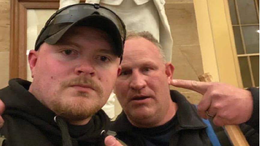 Two Cops, Including a Trained Sniper, Arrested for Taking Part in Capitol Insurrection