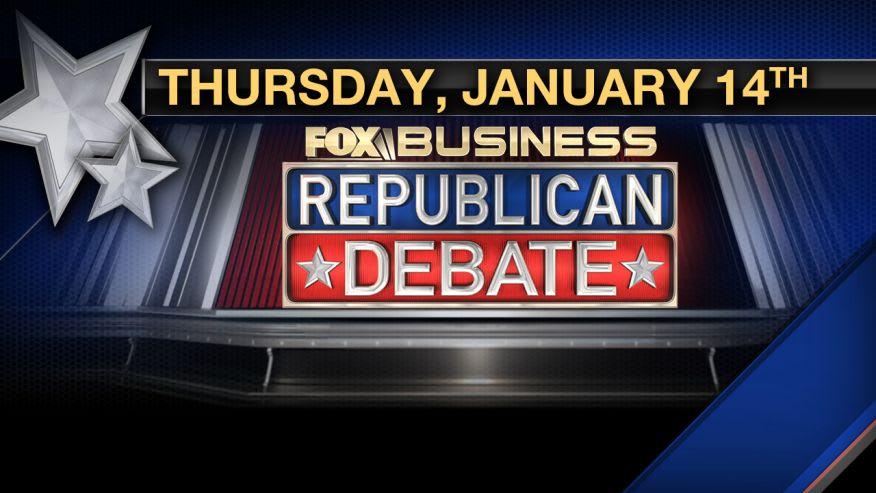 Watch the Fox Business GOP Debate Live Stream Online
