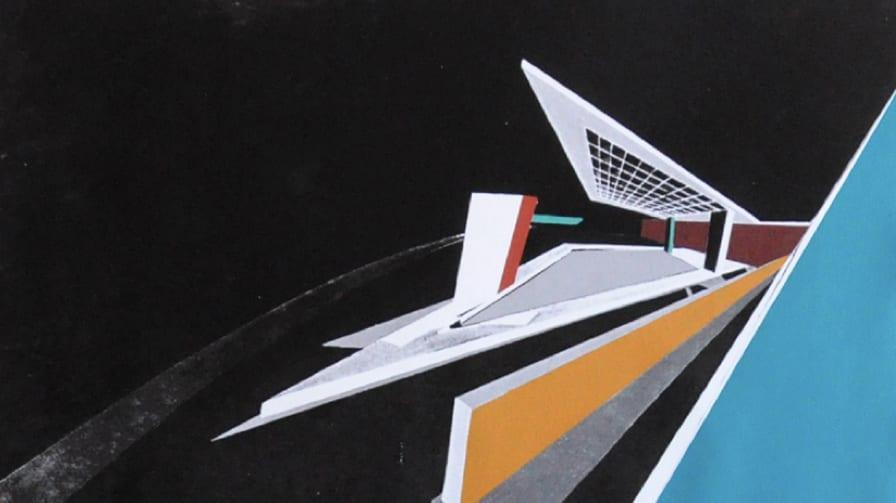 Zaha Hadid S New Paintings Of The Peak Project Art Hong
