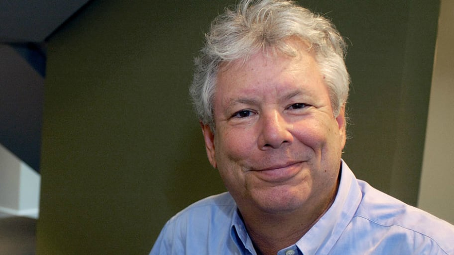 U.S. economist Richard Thaler, who has won the 2017 Nobel Economics Prize, poses in an undated photo provided by the University of Chicago Booth School of Business in Chicago, Illinois