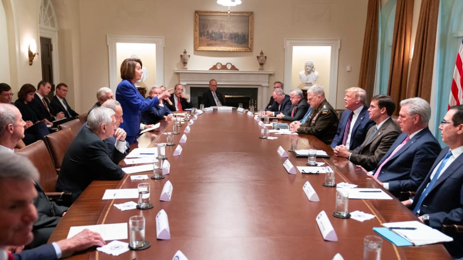 Trump Tweets Photo to Attack Pelosi—She Makes It Her Cover Image