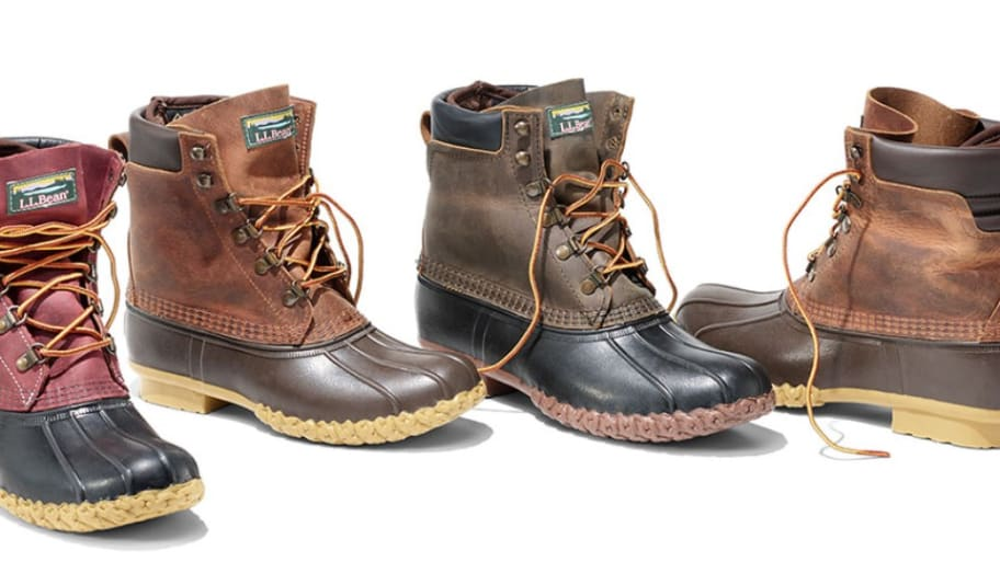L.L.Bean Is Discounting Clothing and Footwear, Including Bean Boots