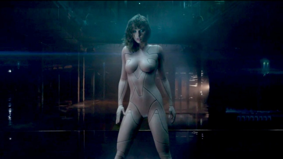 Taylor Swift Transforms Into a Nude Cyborg in '...Ready for It?' We Are So  Not Ready.
