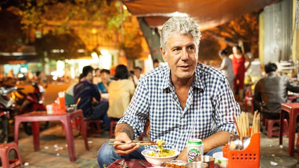 Anthony Bourdain Put These Restaurants on the Map