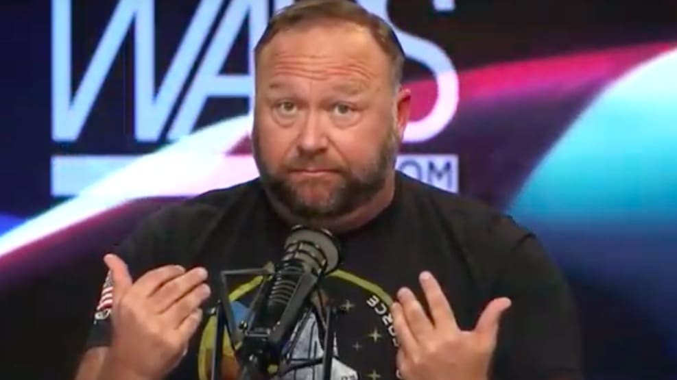 Alex Jones Offers $1M Reward After Alleged 'Malware' Attack That He Says Planted Child Porn on His Servers