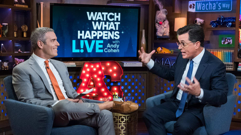 Stephen Colbert Defends Sean Spicer Emmys Bit: 'It Was the Joke I