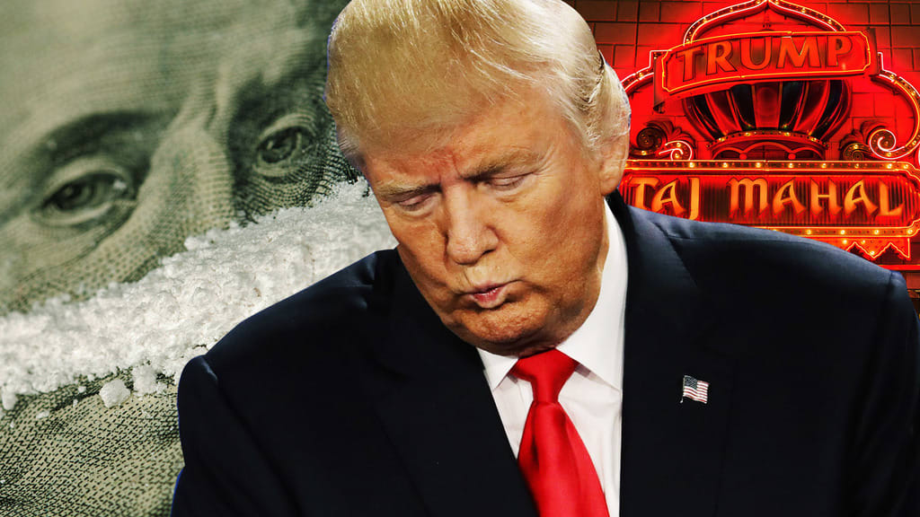 Image result for trump snorting drugs