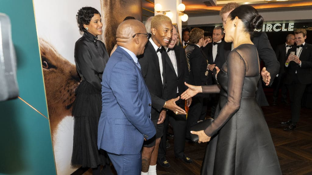 Meghan Tells Pharrell: 'They Don't Make It Easy.' But What Did She Mean?