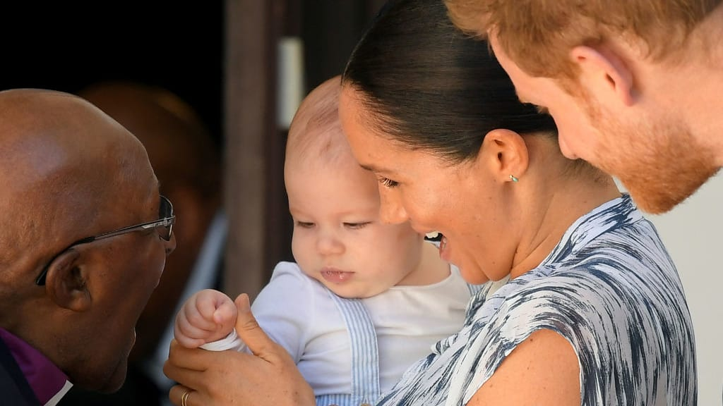 Meghan and Harry Post One-Minute Video of Archie Harrison to Instagram