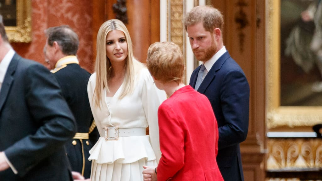 William, Harry and Kate Deny Trump What He Wanted Most: a Photo Op