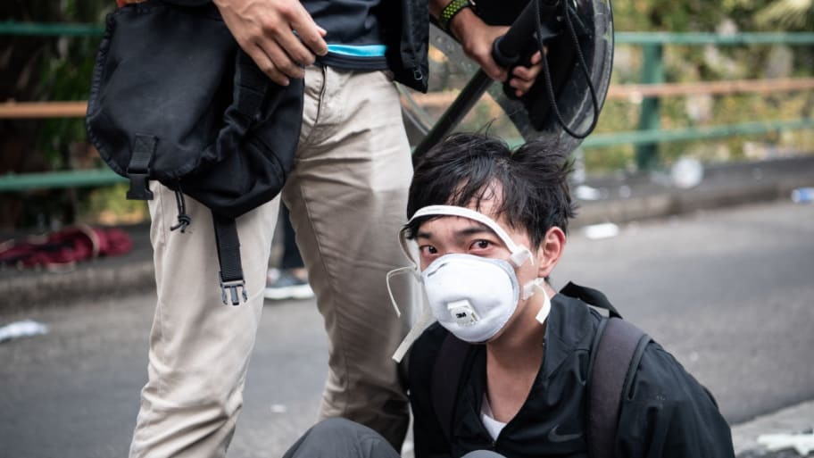 Mask ban in Hong Kong declared unconstitutional