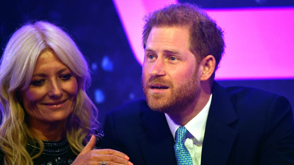 Emotional Prince Harry Breaks Down, Fights Back Tears At Awards Show