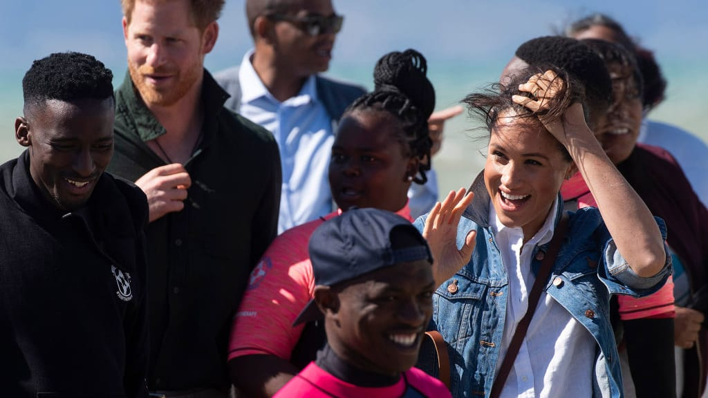 Prince Harry and Meghan Markle Hit the Beach in South Africa, Advocating for Mental Health and Surfing