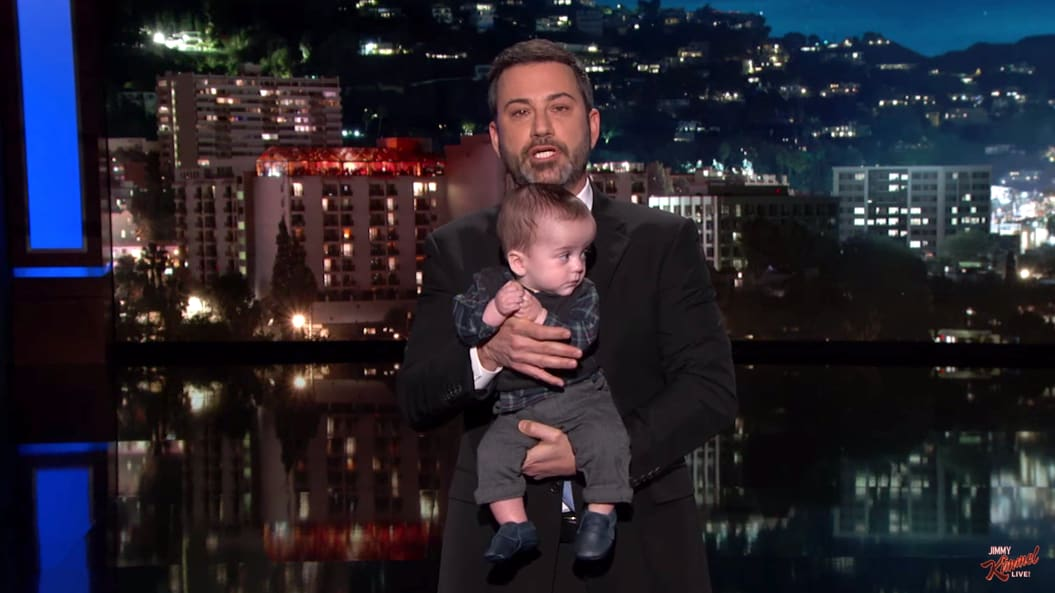 Jimmy Kimmel, With Son Billy in Tow, Delivers Tear-Filled Plea for ...