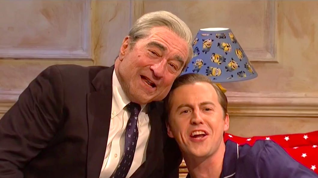 SNL: Robert De Niro's Robert Mueller Closes in on Donald Trump Jr.