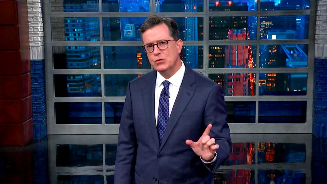 Stephen Colbert Goes Off on New York Post for Deleting E. Jean Carroll Trump Rape Story
