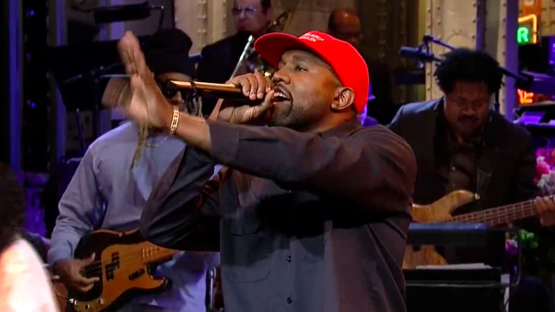 Kanye West Delivers Pro-Trump Rant on 'SNL,' Gets Booed By Audience