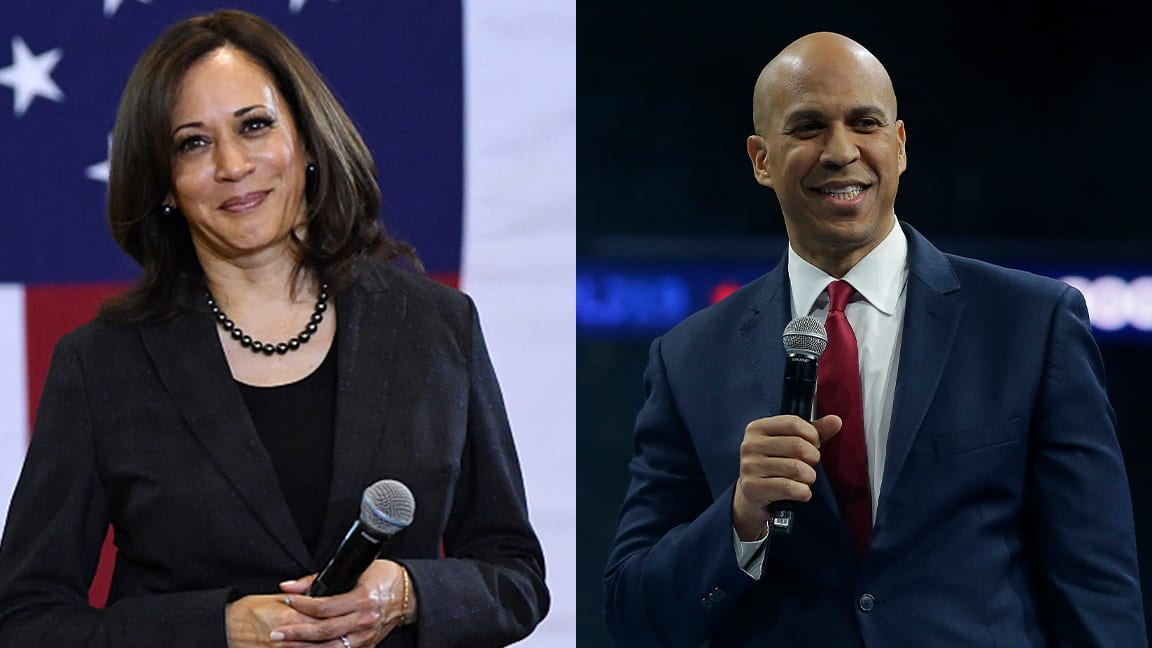 Here's Why Kamala Harris and Cory Booker Can't Break Through the Democratic Primary Field