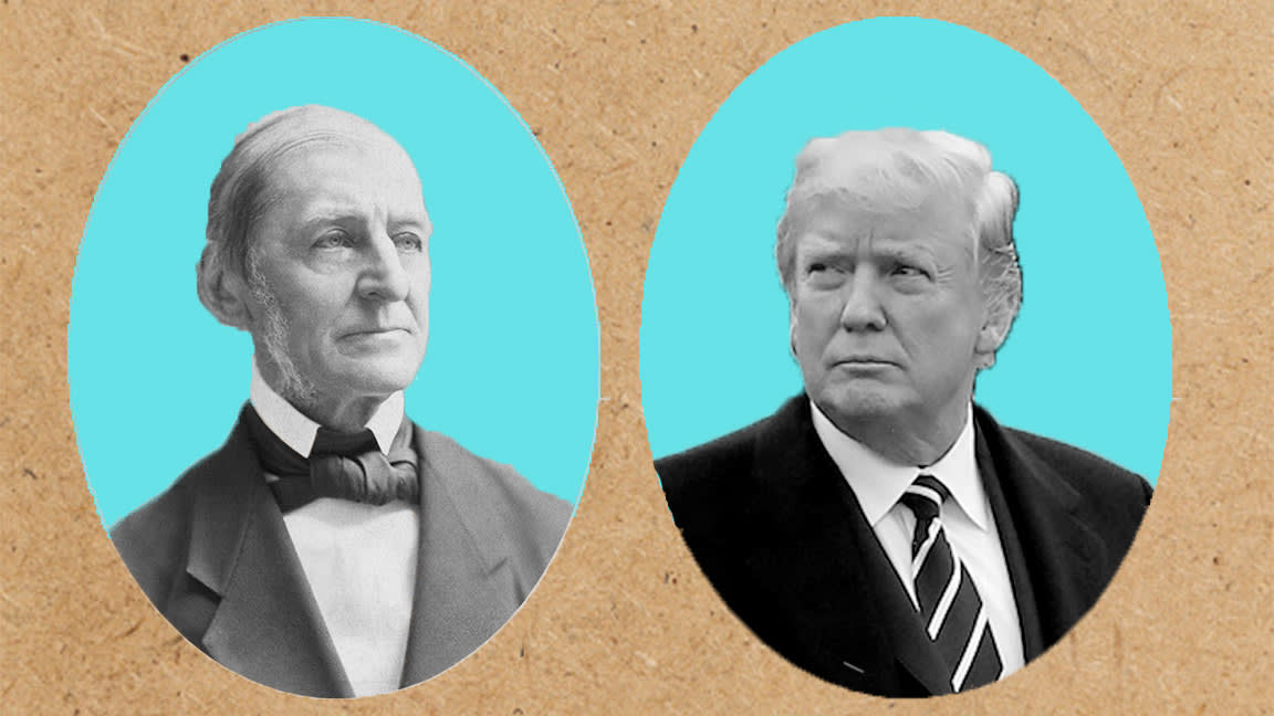 Another Good Reason to Loathe Ralph Waldo Emerson: Trump