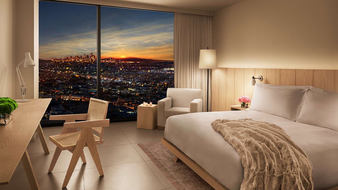 West Hollywood Edition: Ian Schrager Takes on L.A. Hotel Stars