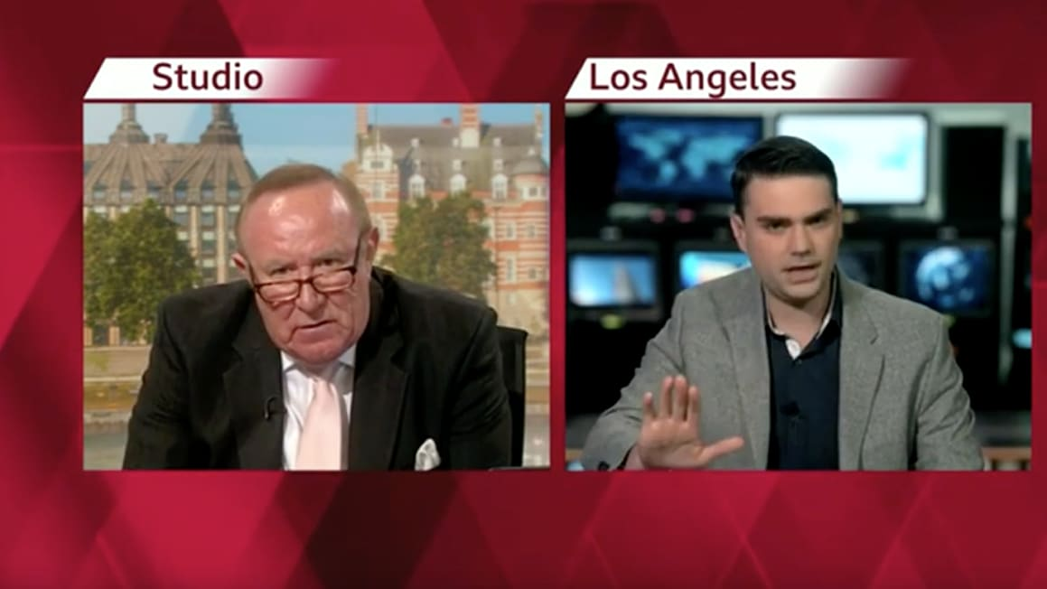 Ben Shapiro Storms Out of BBC Interview: 'I'm Popular and No One's Ever Heard of You'