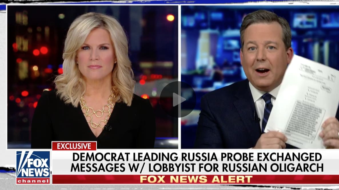 Fox News Hypes 'Questionable' Texts From Mark Warner That Republicans Read Months Ago