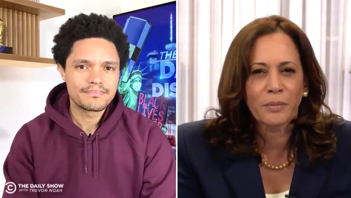 Kamala Harris Shuts Down 'Childish' Men Who Mispronounce Her Name