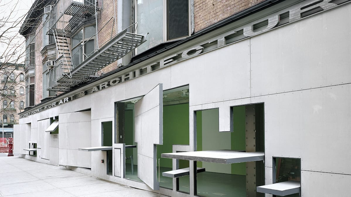 The Storefront For Art And Architecture By Acconci And