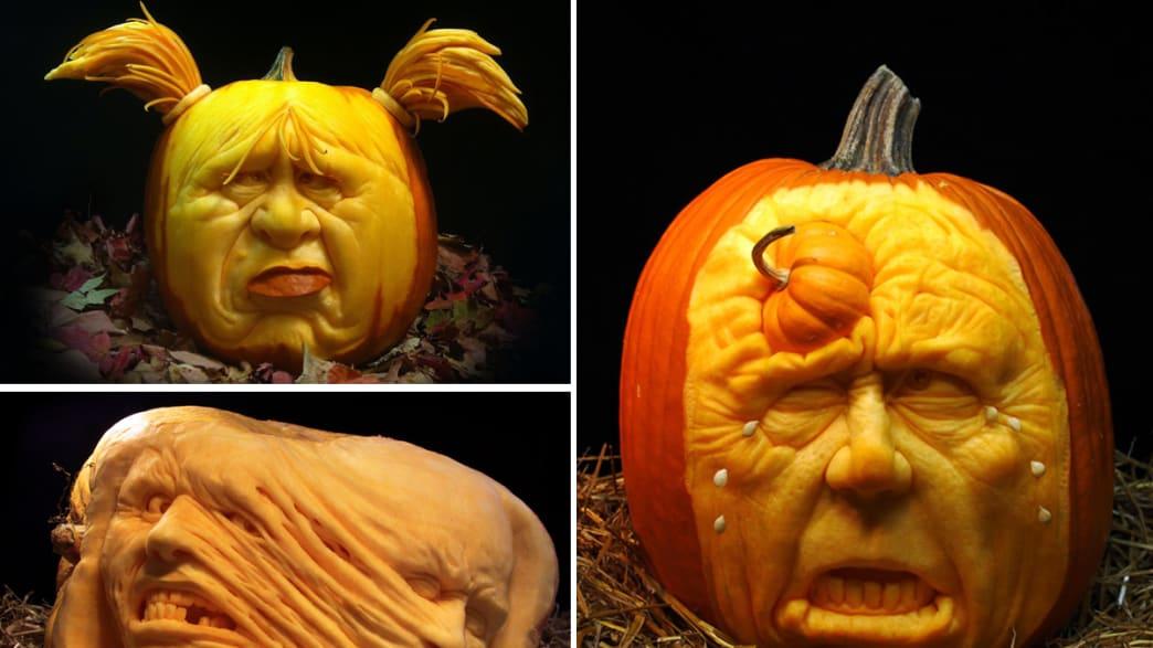 23 Amazing Carved Pumpkins