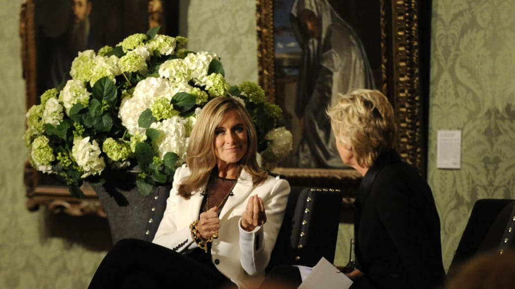 afe3eef38c2 Burberry CEO Angela Ahrendts Speaks at Credit Suisse and Newsweek and Daily  Beast Event