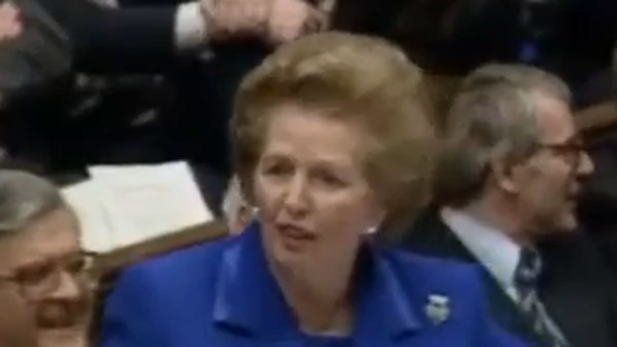 Thatcher: 'They'd Rather Have The Poor Poorer'
