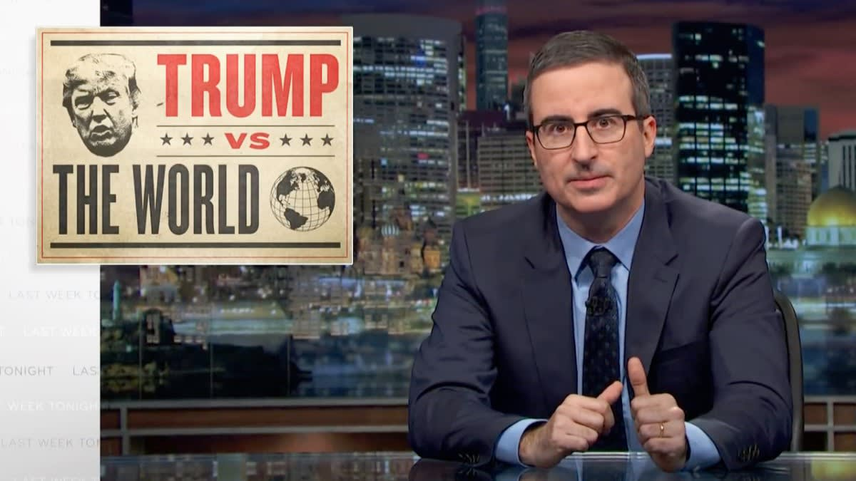 John Oliver Exposes Trump's 'National Emergency' Border Wall BS in 'Last Week Tonight' Return