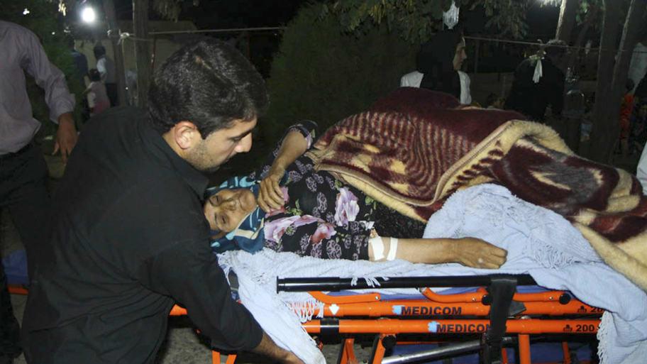 Iran Hospitals Overflow After Quake