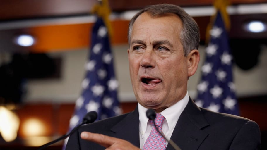 Boehner Dems Can T Really Win The House