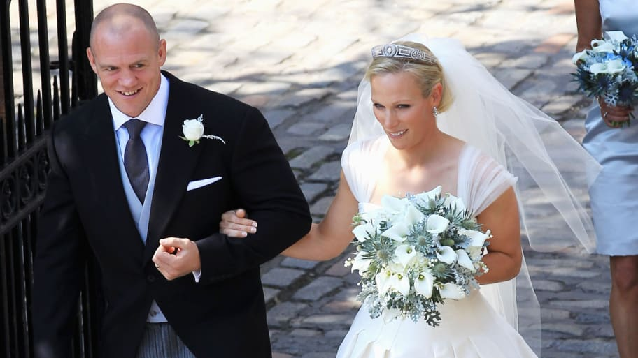 a58c9591b875f Zara Phillips Marries Mike Tindall