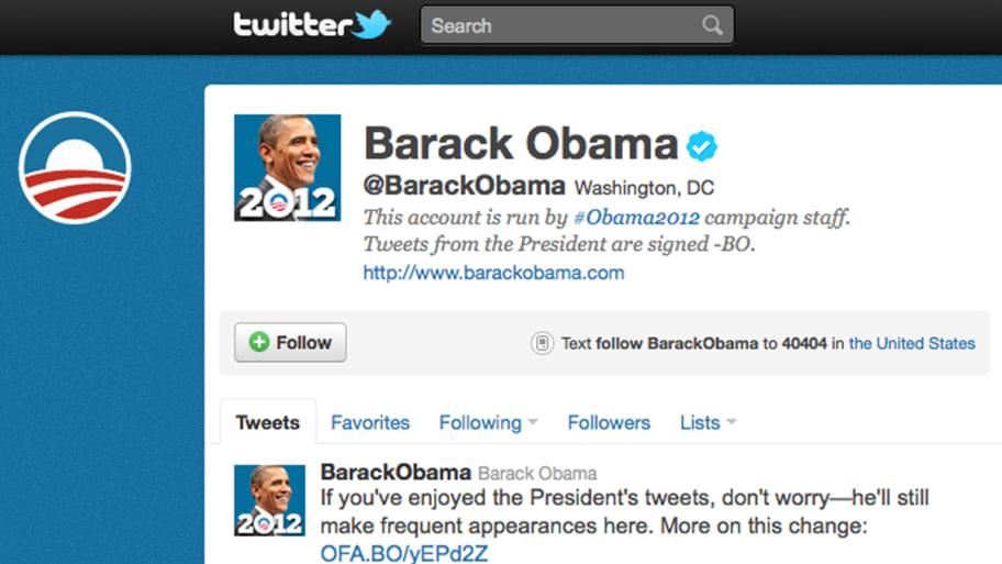 Obama to Tweet Personally