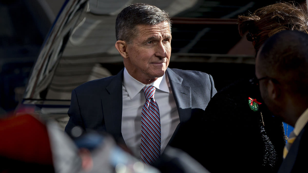 Flynn calls for martial law