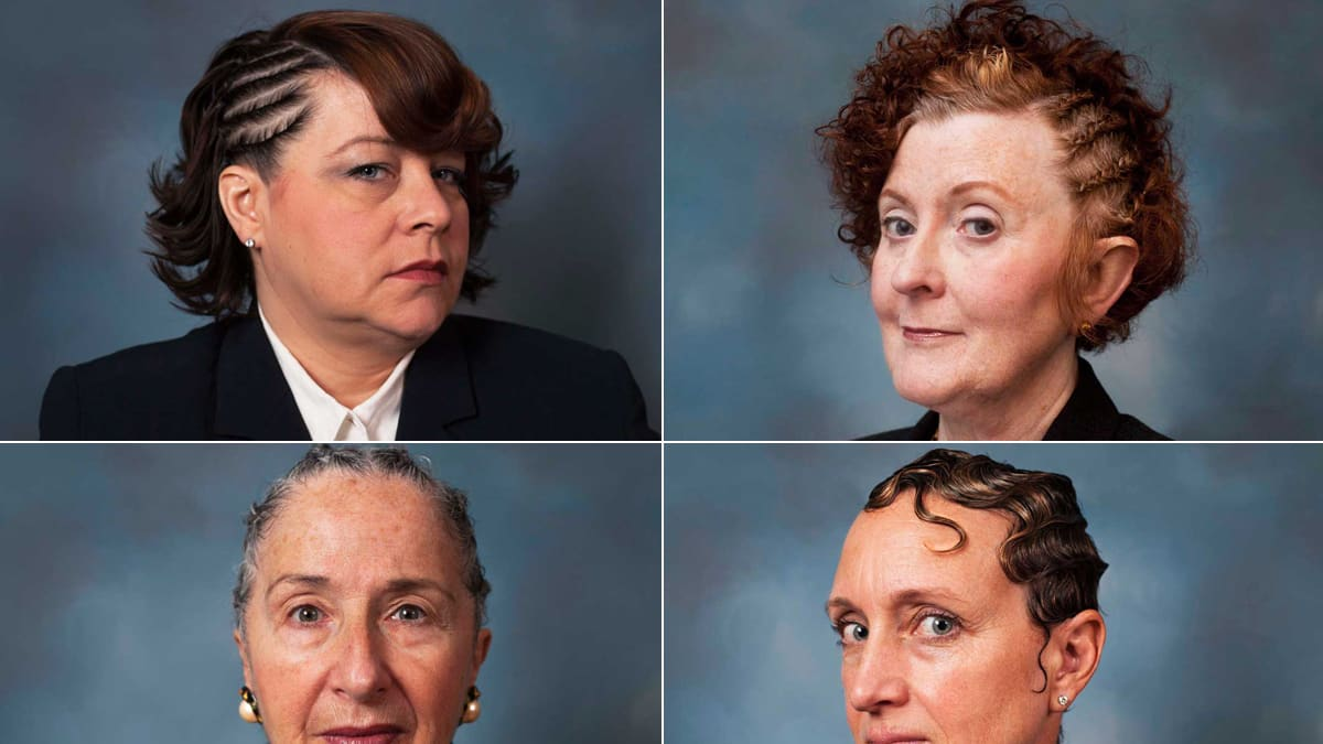 What Happens When White Women Have Black Hair?