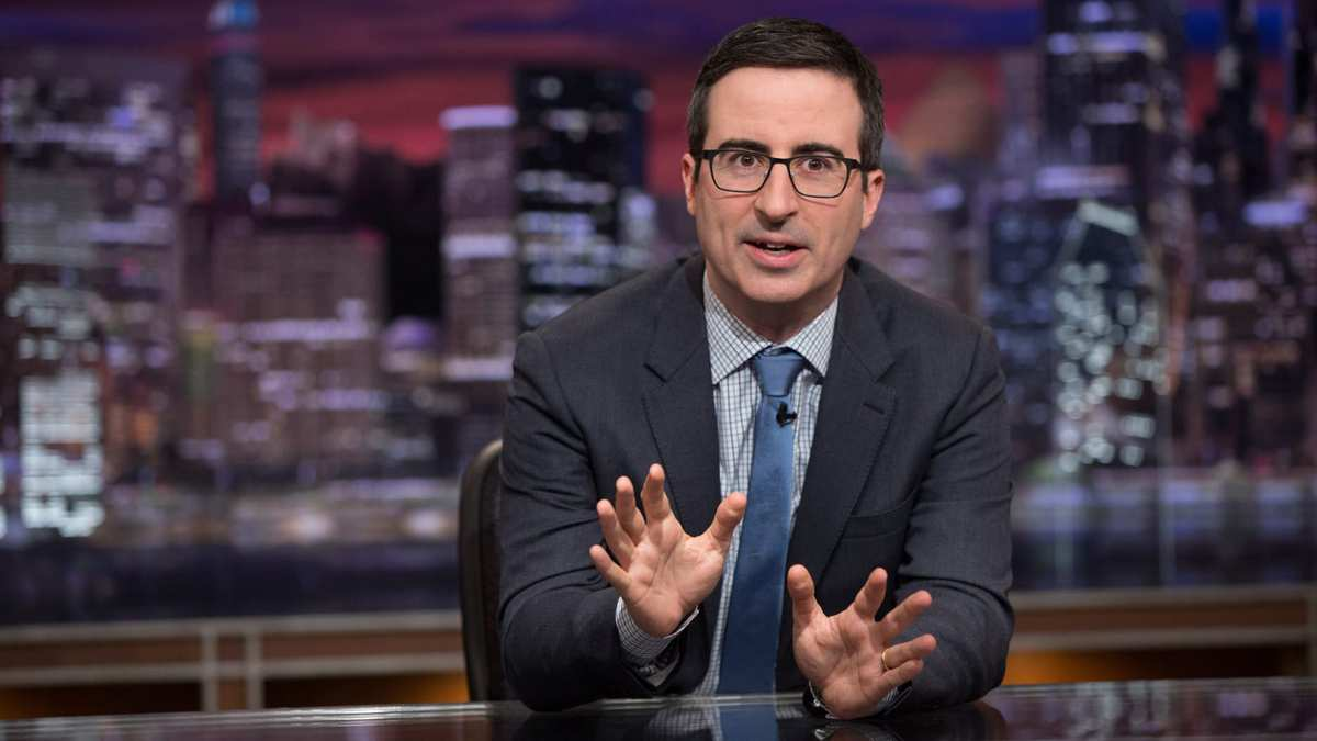 John Oliver Thinks Rudy Giuliani Is Totally Screwed: 'Trump Will Abandon Him'