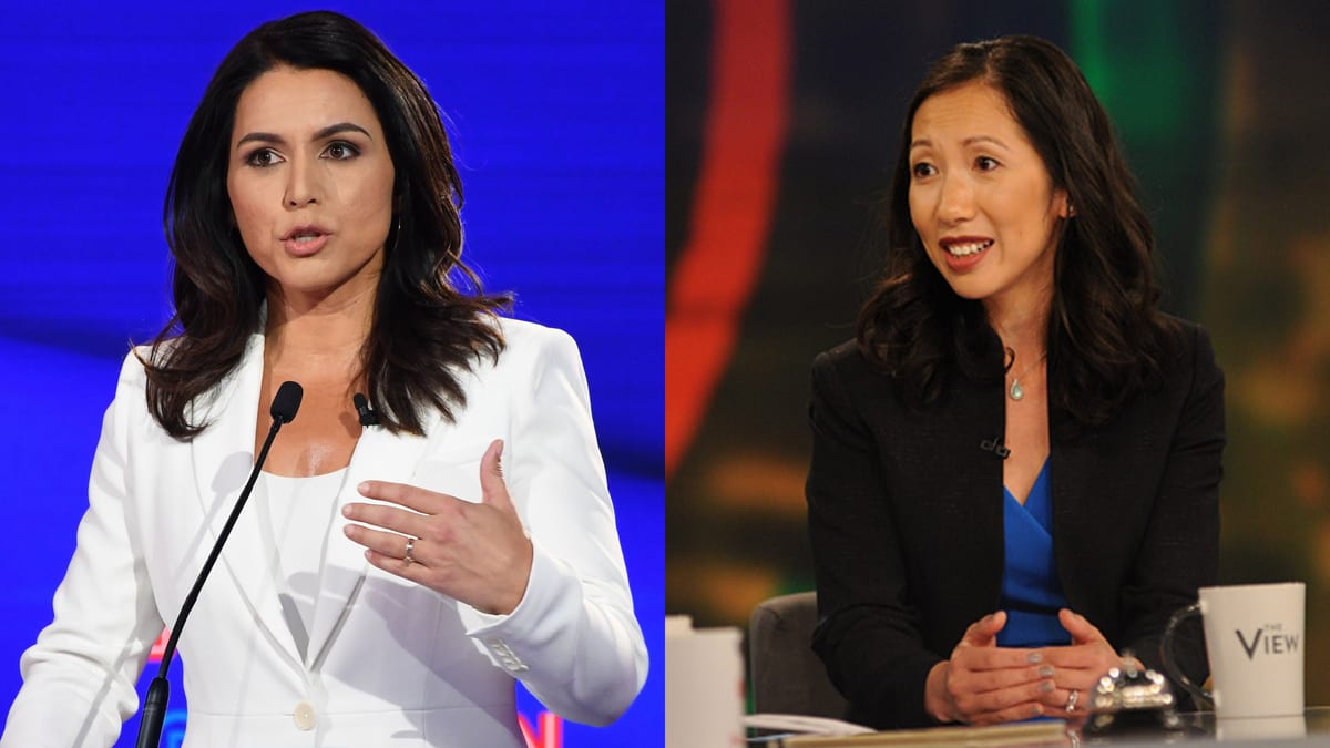 Ousted Planned Parenthood Boss Leana Wen Endorses Tulsi Gabbard's Abortion Spin