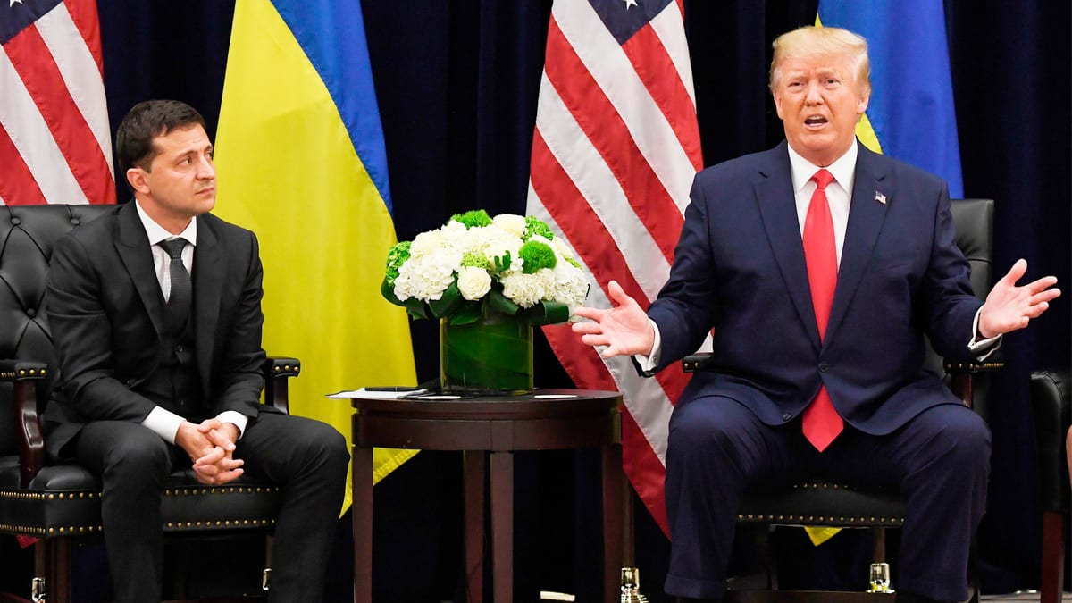 Trump Wanted Zelensky to Publicly Say He Was Probing Biden