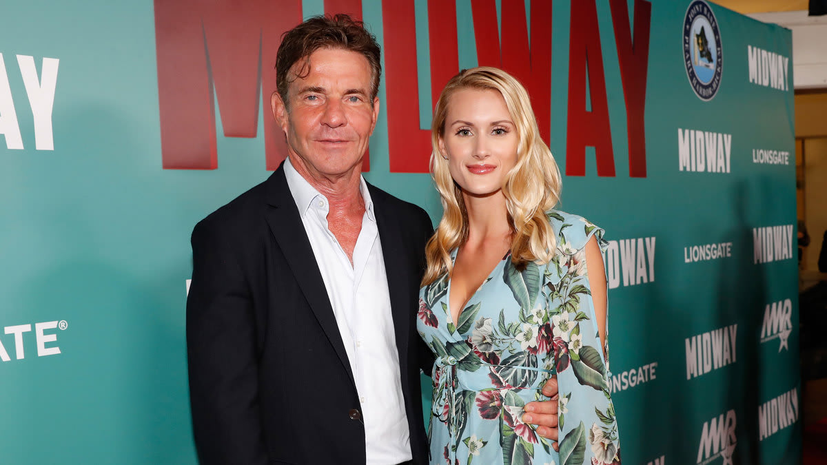 Dennis Quaid and Laura Savoie and the Creepiest Hollywood May-December Couplings