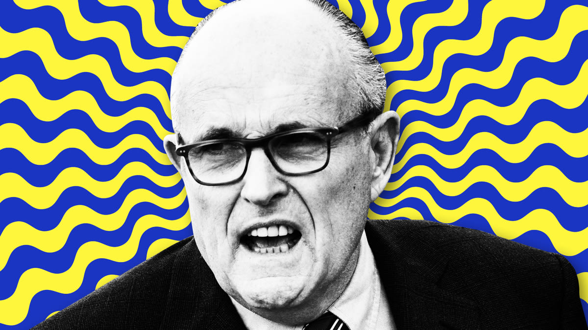 Rudy Giuliani New Ukraine Jaunt Is Freaking Out Trump Lieutenants and He Doesn't Care
